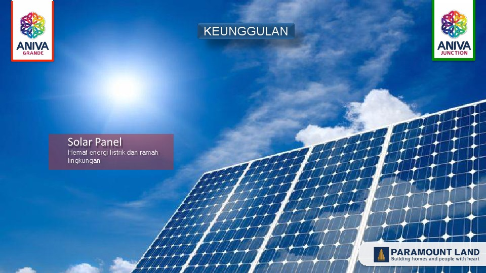 solar panel ruko aniva